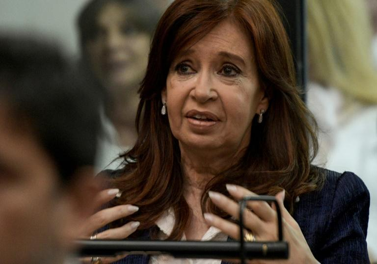 Kirchner in court in Buenos Aires