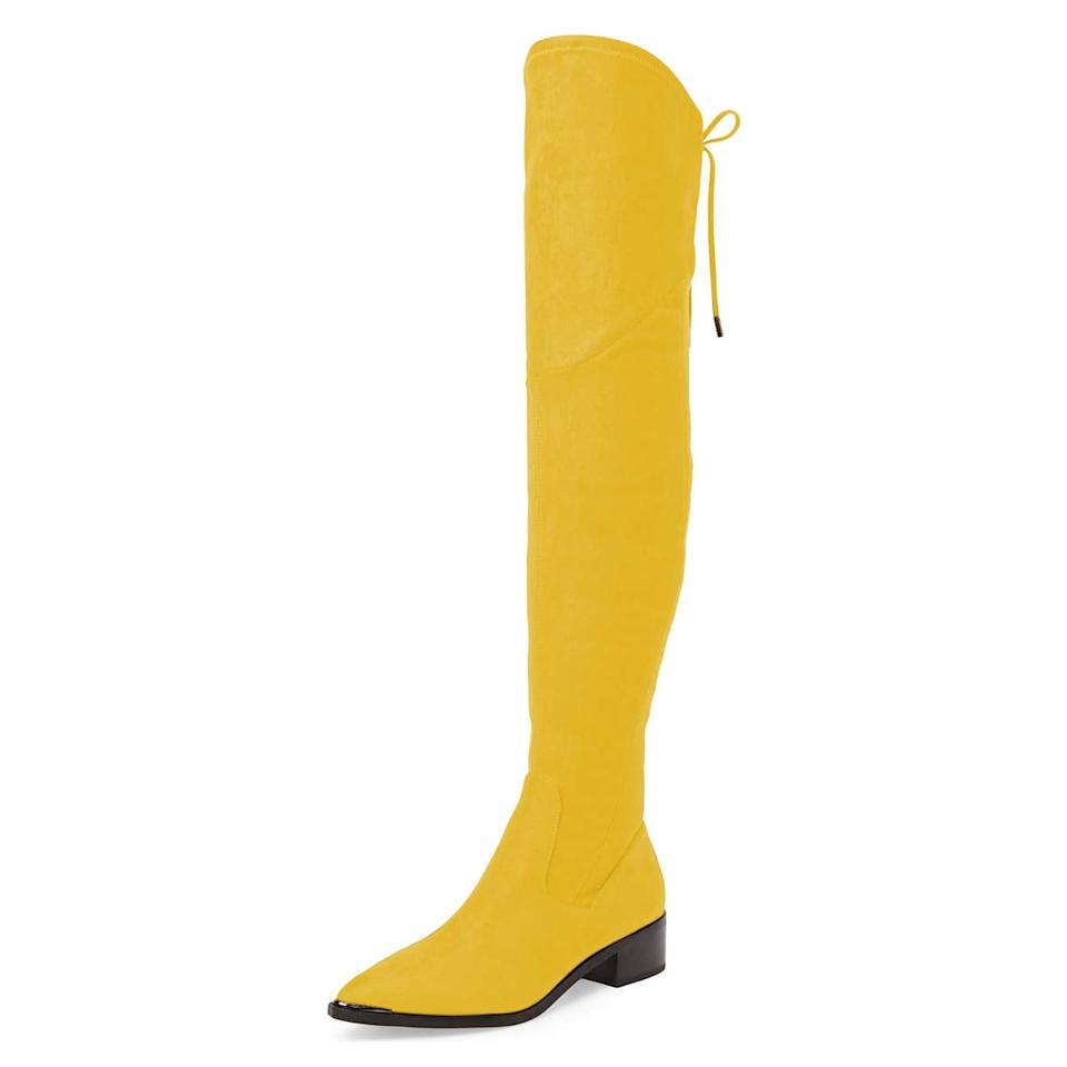 """<p><a href=""""https://www.popsugar.com/buy/XYD-Women-Trendy-Over-Knee-Boots-491348?p_name=XYD%20Women%20Trendy%20Over%20The%20Knee%20Boots&retailer=amazon.com&pid=491348&price=97&evar1=fab%3Aus&evar9=46626039&evar98=https%3A%2F%2Fwww.popsugar.com%2Ffashion%2Fphoto-gallery%2F46626039%2Fimage%2F46626110%2FXYD-Women-Trendy-Over-Knee-Boots&list1=shopping%2Cfall%20fashion%2Cshoes%2Cboots%2Cfall%2Cget%20the%20look&prop13=mobile&pdata=1"""" rel=""""nofollow"""" data-shoppable-link=""""1"""" target=""""_blank"""" class=""""ga-track"""" data-ga-category=""""Related"""" data-ga-label=""""https://www.amazon.com/XYD-Pointed-Zippers-Slouchy-Booties/dp/B07JG1KLTN/ref=sr_1_12?qid=1568661102&amp;refinements=p_n_size_two_browse-vebin%3A5391085011&amp;s=apparel&amp;sr=1-12&amp;th=1&amp;psc=1"""" data-ga-action=""""In-Line Links"""">XYD Women Trendy Over The Knee Boots</a> ($97)</p>"""