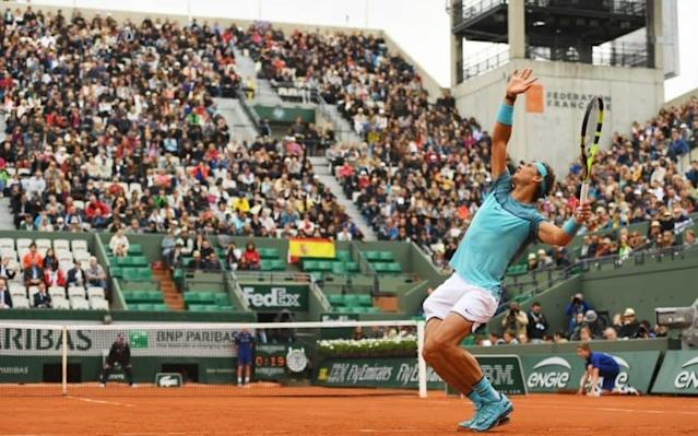 <span>Rafael Nadal may be forced to move more quickly between serves</span>