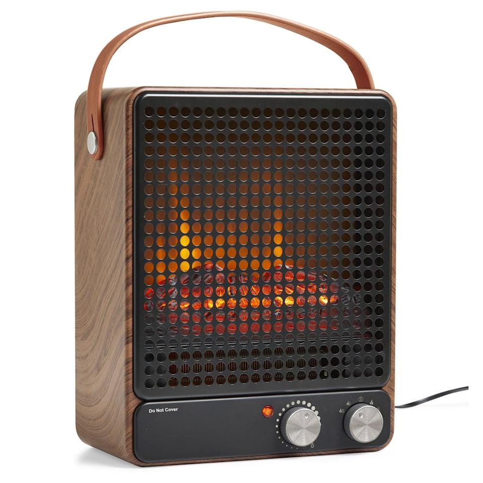 Better Homes & Gardens Fan Forced 1500W Portable Electric Fireplace (Photo: Walmart)