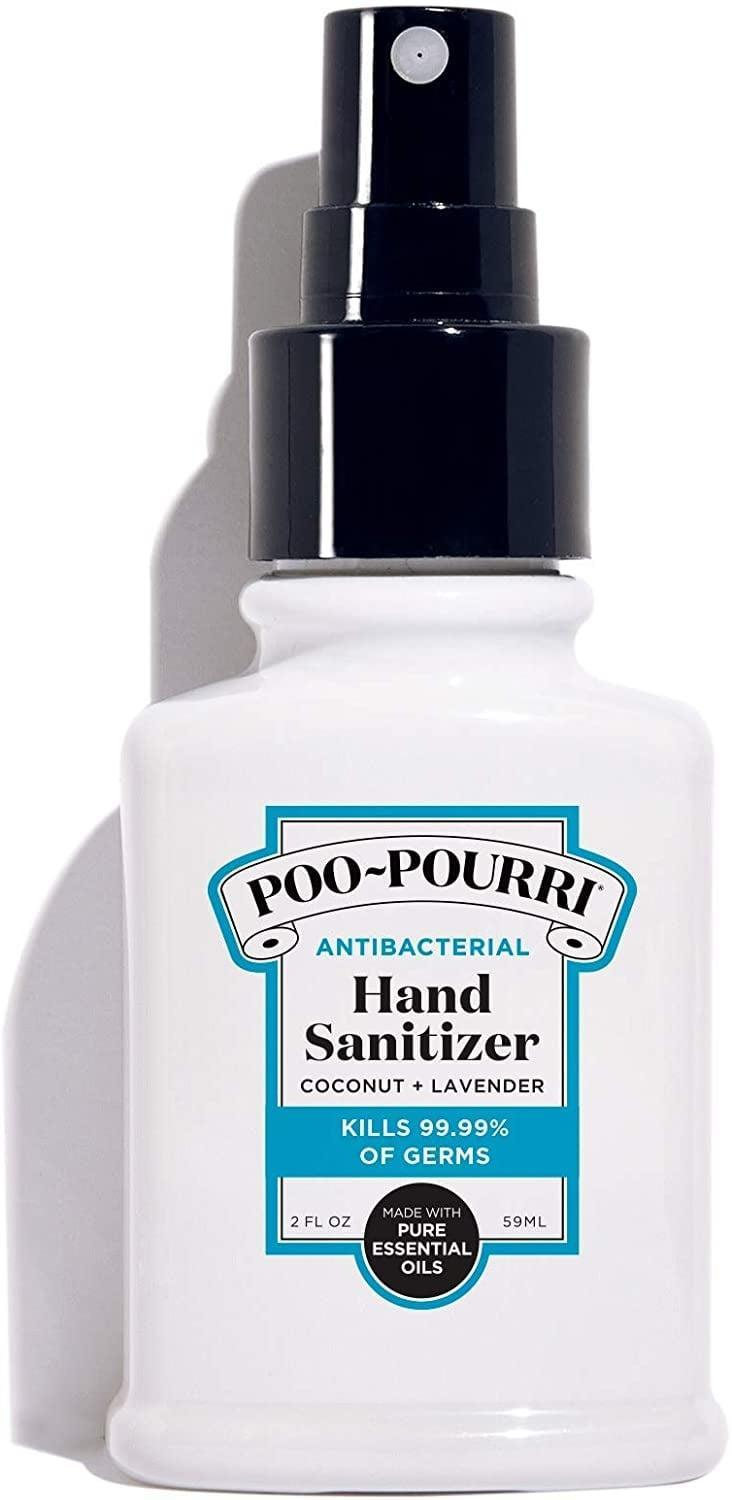 <p>Your favorite bathroom brand is now making the <span>Poo-Pourri Antibacterial Hand Sanitizer</span> ($6). </p>