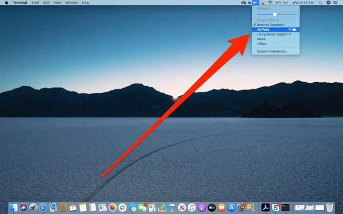 How to connect AirPods to Mac 1