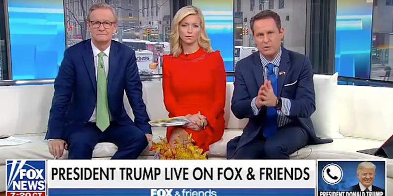 Trump Fox and Freinds