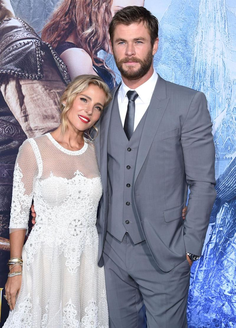The Thor star admitted date nights without their three kids have helped keep the spark alive. Source: Getty