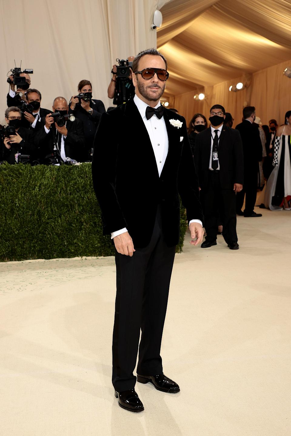 """<h1 class=""""title"""">Tom Ford, The 2021 Met Gala Celebrating In America: A Lexicon Of Fashion - Arrivals</h1><cite class=""""credit"""">Getty</cite>"""