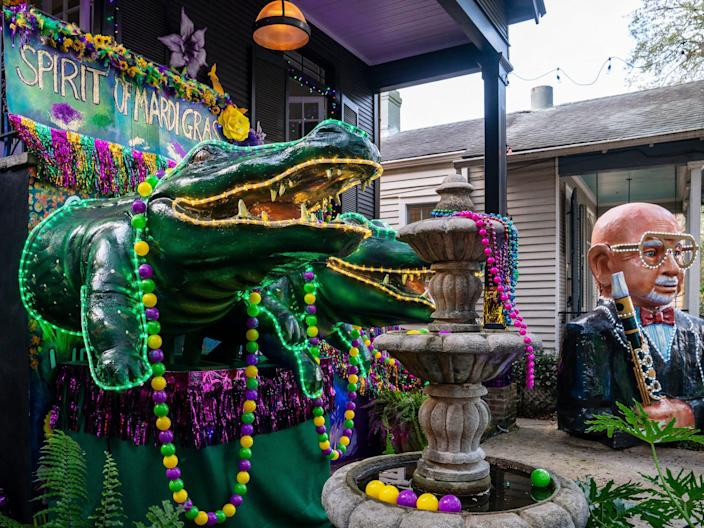 New Orleans 'House Float' 2021