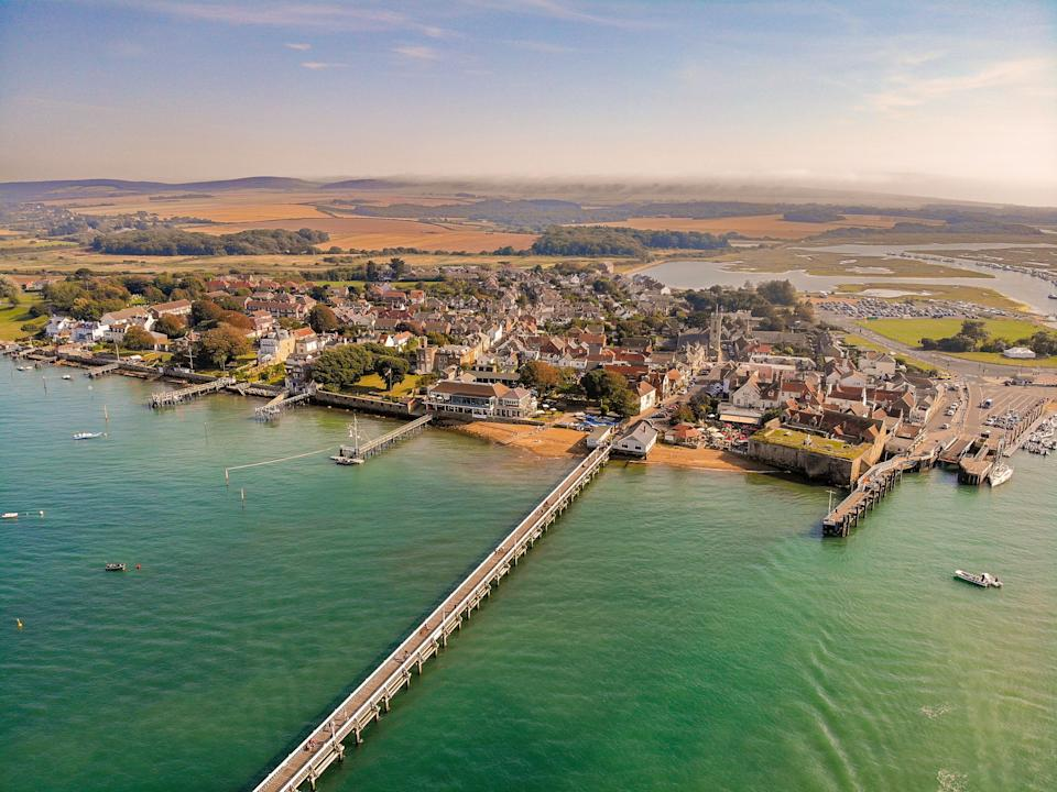The Isle of Wight's Yarmouth coast (Photo: Sterling750 via Getty Images)