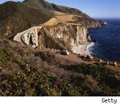 california coastline (OK, so it's central Cali and not Socal. Who'll know?)