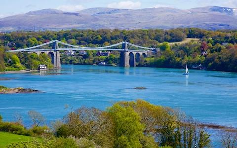 Menai Suspension Bridge - Credit: David Williams/David Williams
