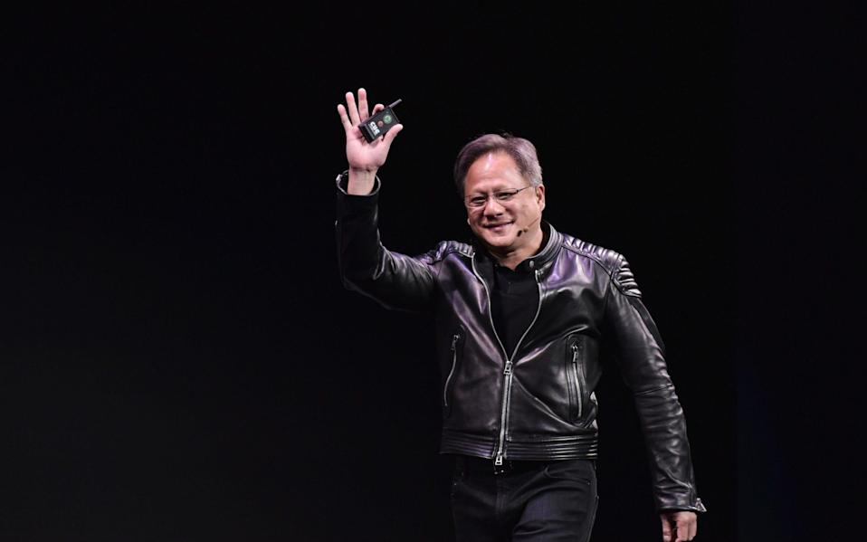 Nvidia CEO Jensen Huang wants to buy British semiconductor chip designer Arm for $40bn  - MANDEL NGAN / AFP via Getty Images