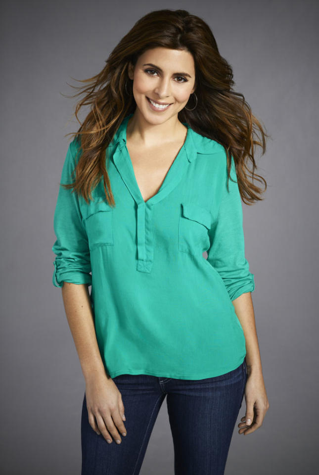 "Jamie Lynn Sigler stars as Emily in ""Guys with Kids"" on NBC."