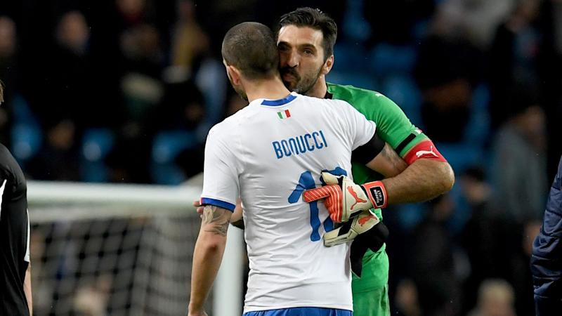Italy must learn from rejuvenated England, says Bonucci