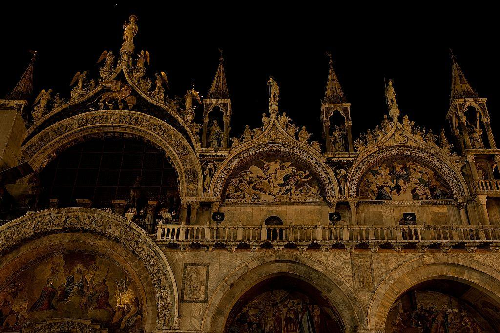 A general view of St Mark's Cathedral in Venice, Italy.