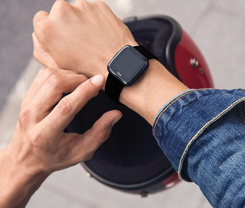 The Fitbit Versa is a versatile fitness track. (Photo: Amazon)