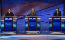 """<p>When a teen contestant lost out on $3,000, because of a spelling error, people were so upset that the show had to <a href=""""https://www.cnn.com/2013/08/05/showbiz/jeopardy-wrong-answer-child/index.html"""" rel=""""nofollow noopener"""" target=""""_blank"""" data-ylk=""""slk:issue a response"""" class=""""link rapid-noclick-resp"""">issue a response</a>, saying, """"If <em>Jeopardy!</em> were to give credit for an incorrect response (however minor), the show would effectively penalize the other players. We love presenting young people as contestants on our show, and make every effort to be fair and consistent in their treatment.""""</p>"""