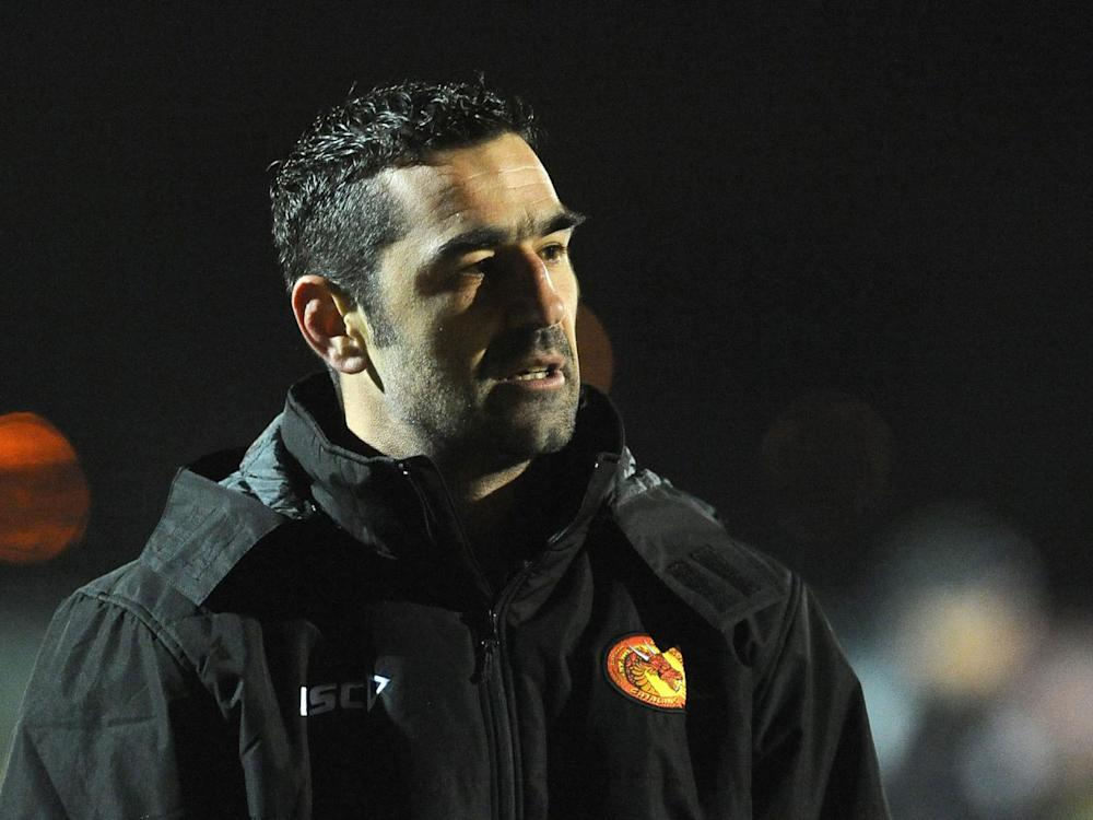 Catalans' victory over Salford eased the pressure on Laurent Frayssinous (Getty)