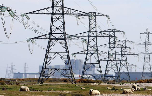 Electricity pylons (Photo: Gareth Fuller - PA Images via Getty Images)