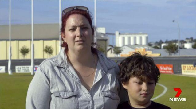 His mother Katherine Price believes some kids playing a prank were responsible. Source: 7 News