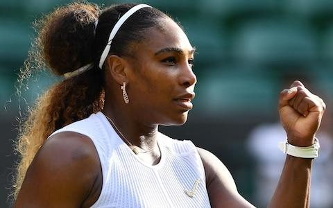For years, Serena Williams called for quality on the show courts - Credit: GLYN KIRK/AFP