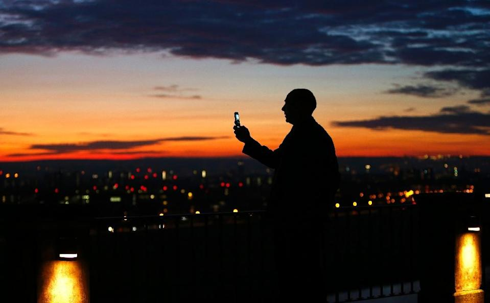In an age when almost everyone carries a smartphone, the absence of free wi-fi connections can appear to be an aberration in Germany, a country known for its technological prowess (AFP Photo/Christof Stache)