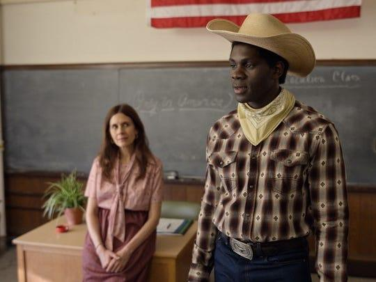"""Jessica Hecht and Conphidance in """"Little America."""""""
