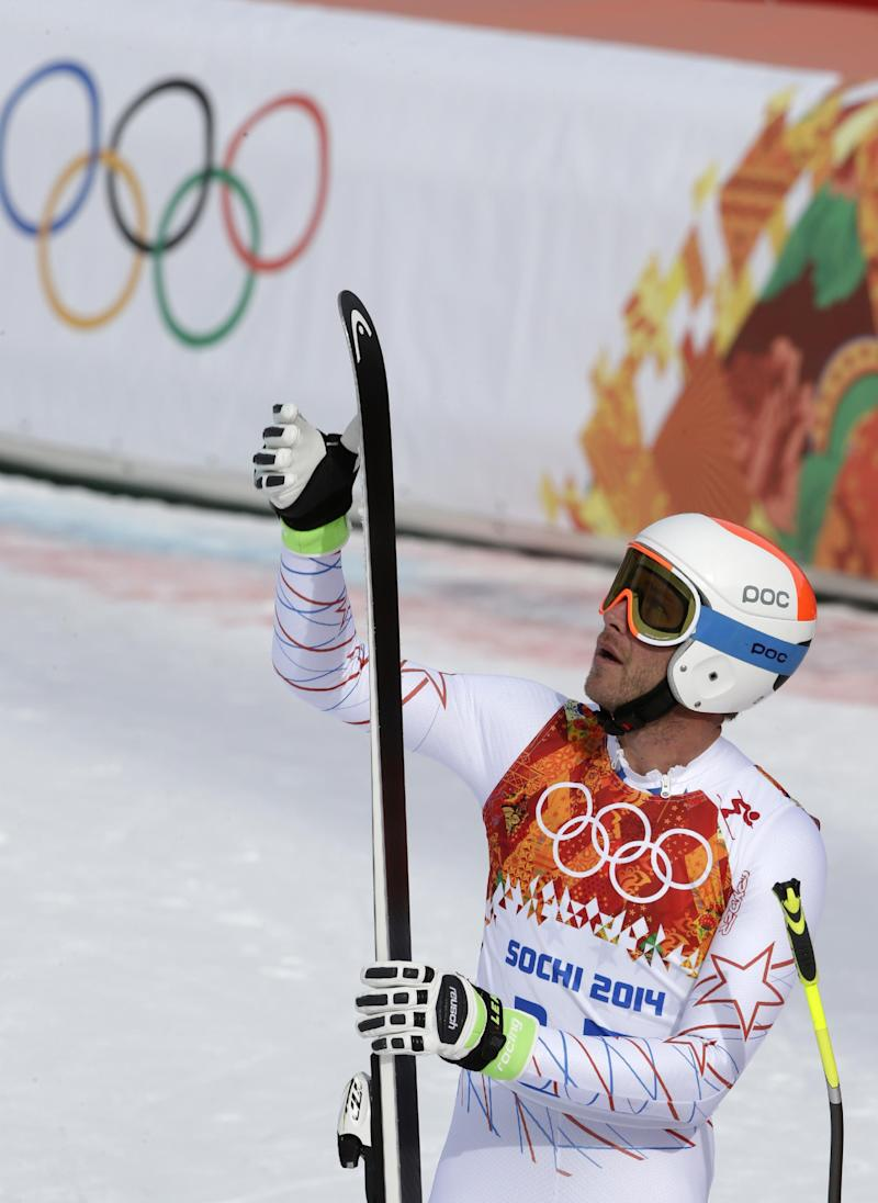 Bode Miller surprisingly 8th in Olympic downhill