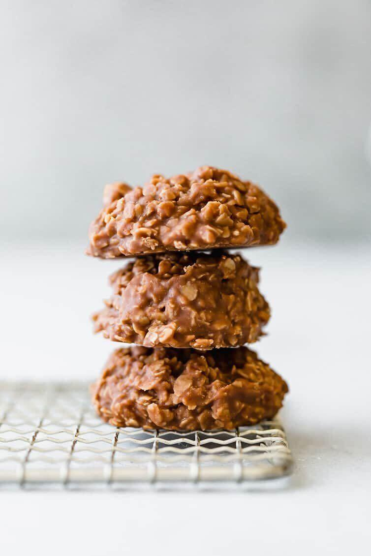 "<a href=""https://www.browneyedbaker.com/no-bake-chocolate-peanut-butter-oatmeal-cookies/"" rel=""nofollow noopener"" target=""_blank"" data-ylk=""slk:Get the No-Bake Chocolate, Peanut Butter And Oatmeal Cookies recipe from Brown Eyed Baker"" class=""link rapid-noclick-resp""><strong>Get the No-Bake Chocolate, Peanut Butter And Oatmeal Cookies recipe from Brown Eyed Baker</strong></a>"