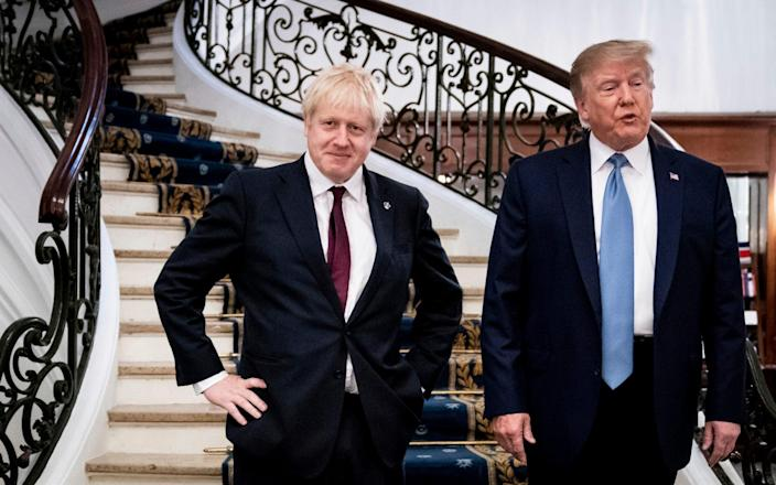 """Johnson is keen to show the Biden administration that he is not a """"Trump clone"""" - AP"""