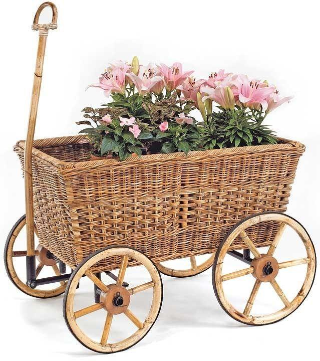 """<p>mainlybaskets.com</p><p><strong>$623.00</strong></p><p><a href=""""https://www.mainlybaskets.com/categories/0/search-results/products/mb5216a/french-country-farmer_singlequotes_s-cart"""" rel=""""nofollow noopener"""" target=""""_blank"""" data-ylk=""""slk:Shop Now"""" class=""""link rapid-noclick-resp"""">Shop Now</a></p><p>Whether you fill it with flowers, produce, or beverages, the """"French Country Farmer's Cart"""" is as pretty as it is practical. Made by hand with sustainably harvested rattan, it's best kept on a covered porch.</p>"""