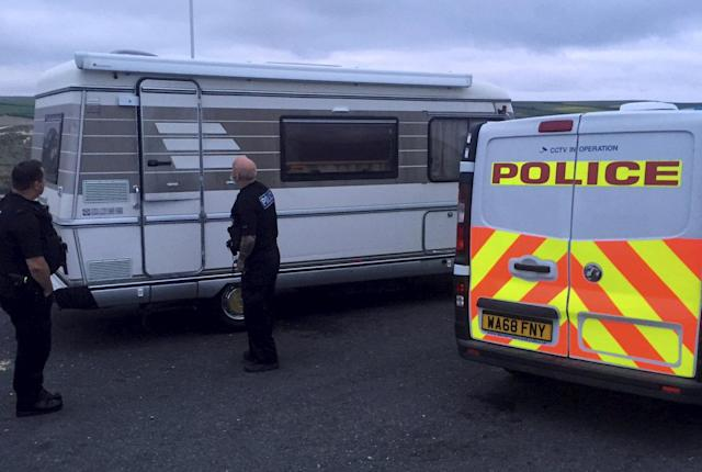 Elsewhere in Cornwall, locals reported seeing tents and vans pitched up in beauty spots. (SWNS)