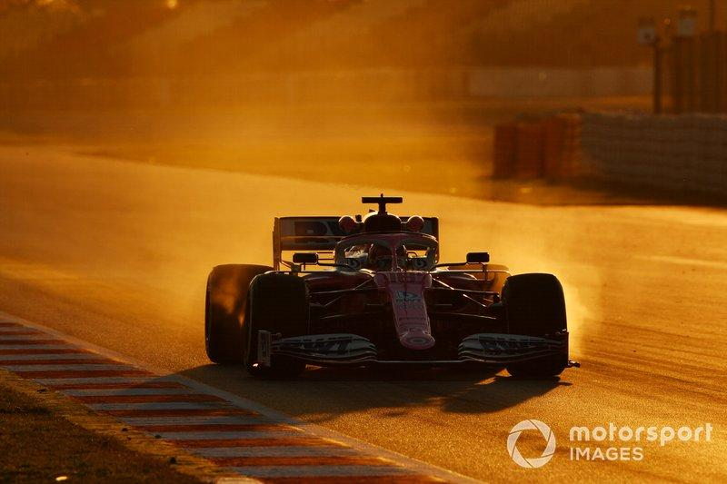 """Lance Stroll, Racing Point RP20 <span class=""""copyright"""">Mark Sutton / Motorsport Images</span>"""