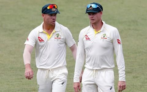 <span>David Warner and Steve Smith are currently serving bans</span> <span>Credit: reuters </span>