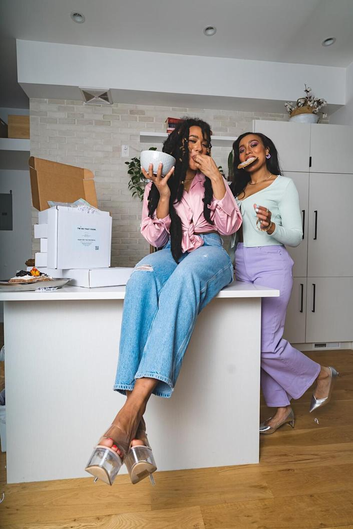 Can you tell aesthetics are important to these two? (Twins That Cook)