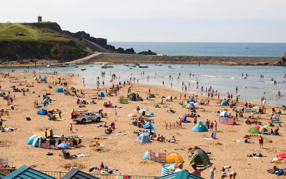Cornwall is preparing for a surge in staycationers this summer - Getty