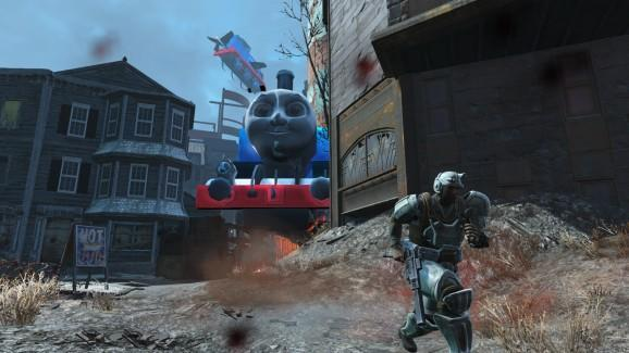 Fallout 4's latest bad guy is … Thomas the Tank Engine