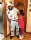 """<p>Boo! These <a href=""""http://www.everythingdee.com/happy-halloween/"""" rel=""""nofollow noopener"""" target=""""_blank"""" data-ylk=""""slk:DIY"""" class=""""link rapid-noclick-resp"""">DIY </a><em>Monsters Inc.</em> costumes (all you need are sweats and some felt) are made for adults, too! <br></p><p><a class=""""link rapid-noclick-resp"""" href=""""https://www.amazon.com/Disguise-Adult-Sulley-Costume-Medium/dp/B0119VL4AS/?tag=syn-yahoo-20&ascsubtag=%5Bartid%7C10072.g.27868801%5Bsrc%7Cyahoo-us"""" rel=""""nofollow noopener"""" target=""""_blank"""" data-ylk=""""slk:SHOP SULLEY COSTUME"""">SHOP SULLEY COSTUME</a></p>"""