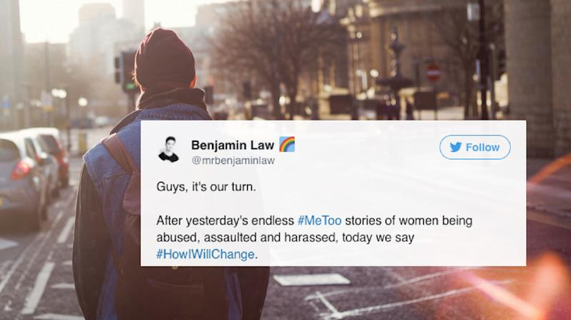 In Response To #MeToo, Men Are Tweeting #HowIWillChange