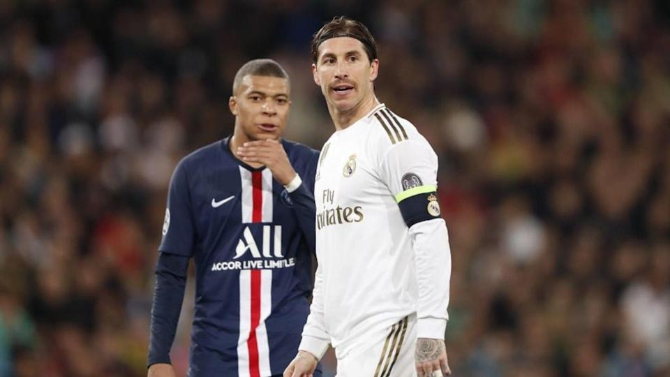 Mbappé y Sergio Ramos   ANP Sport/Getty Images