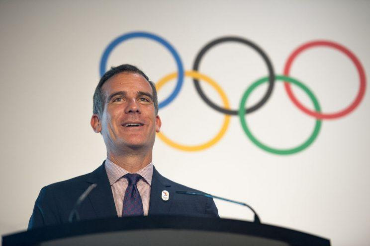 Eric Garrett is convinced Los Angeles will not make the same mistakes other Olympic host cities have in the past. (Getty Images)