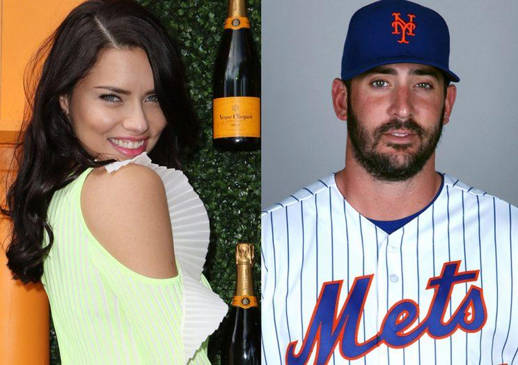 Adriana Lima and Matt Harvey have struck up a new romance. (Photo: Getty Images)