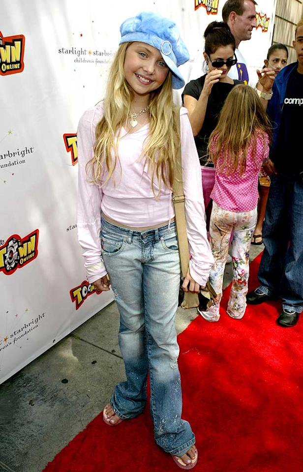 "August 2004: 10-year-old Taylor jazzed up her casual ensemble with a funky hat.   <a href=""http://www.seventeen.com/fashion/makeovers/taylor-swift-fashion-pics?link=rel&dom=yah_omg&src=syn&con=art&mag=svn "" target=""new"">See Taylor Swift's Style Transformation</a> Jesse Grant/a href=""http://www.wireimage.com"" target=""new"">WireImage.com - August 21, 2004"