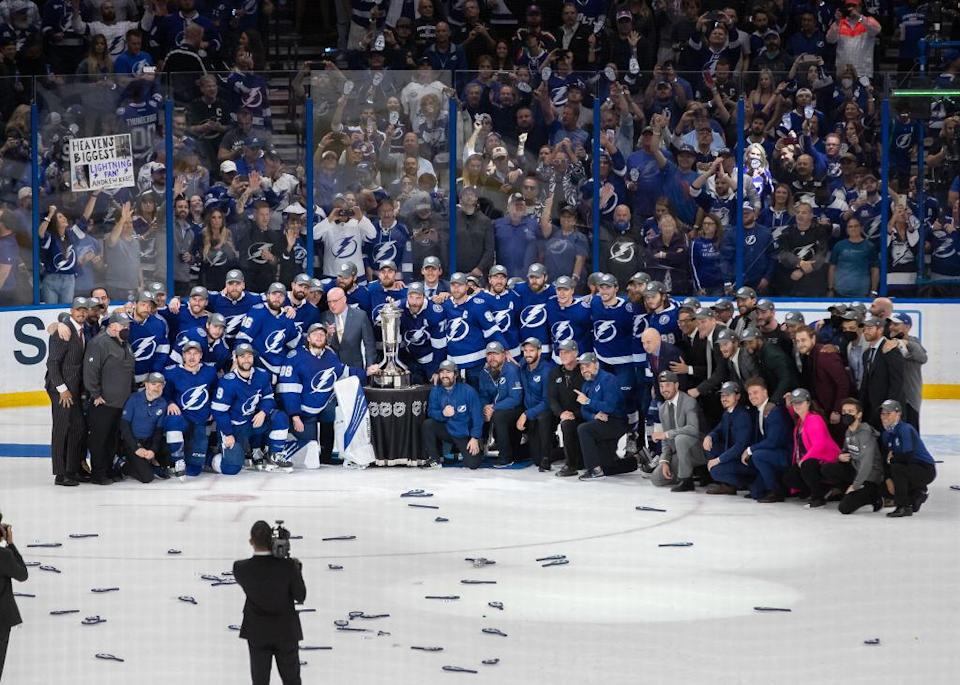 Why Lightning repeat attempt gives Cooper 'last day of school' feelings team photo