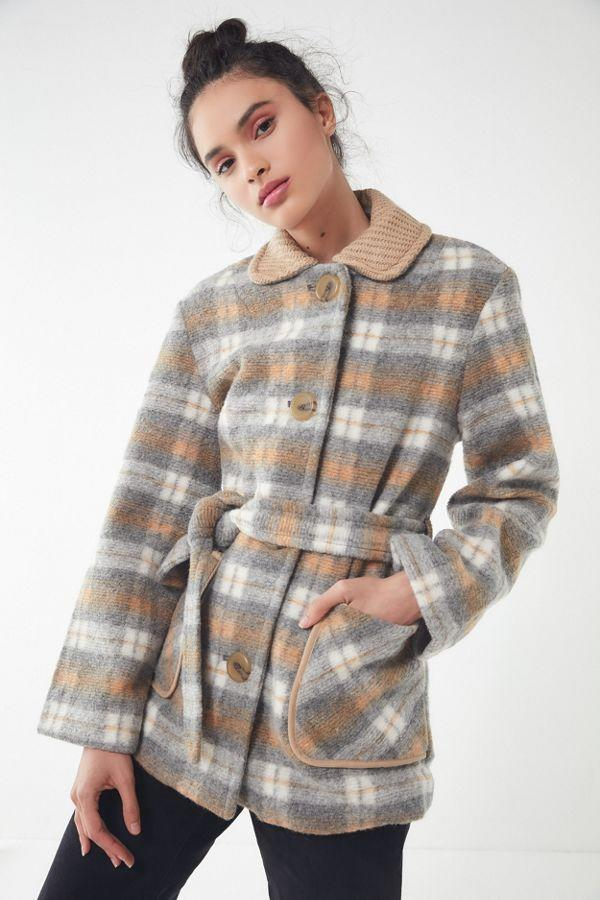 Urban Outfitters UO Belted Lady Coat (Photo: Urban Outfitters)