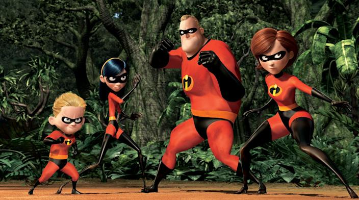 The incredibles pixar