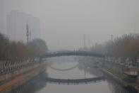 Polluted day in Beijing