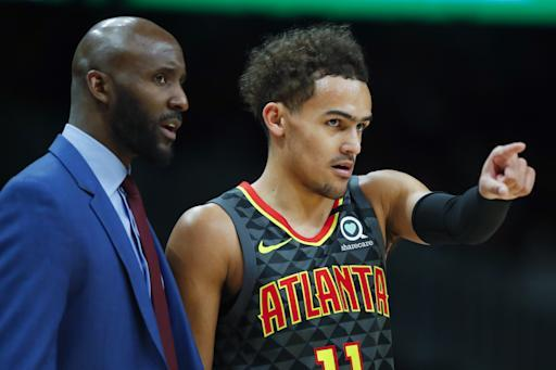 Young scores 48 points, Hawks beat Knicks 140-135 in 2 OTs