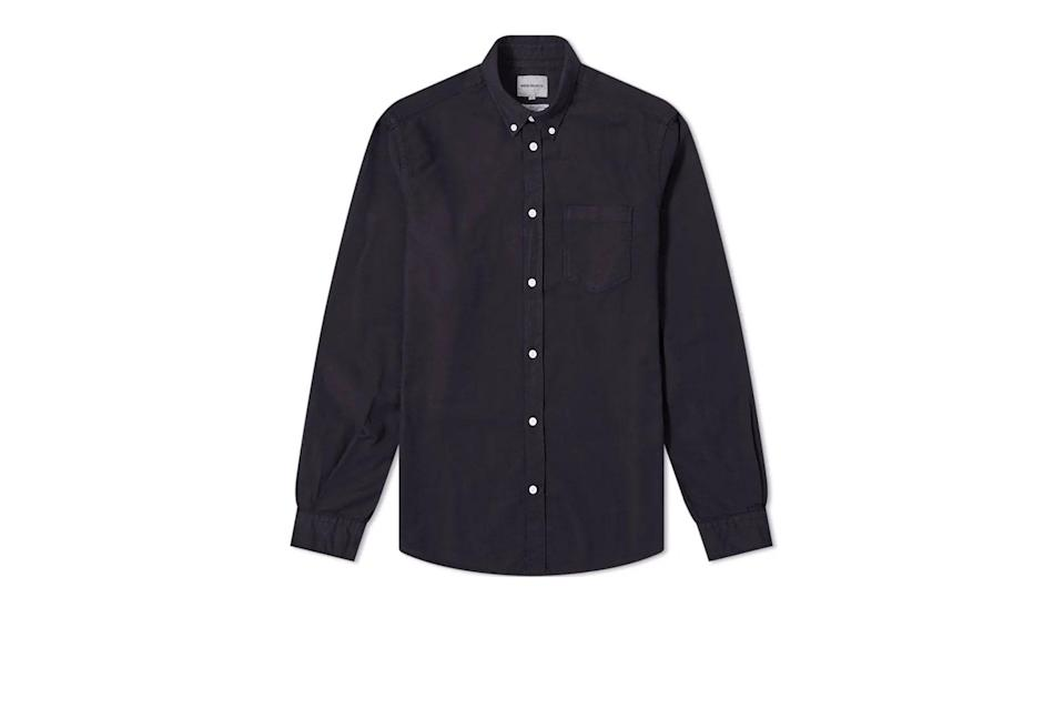 "$145, End Clothing. <a href=""https://www.endclothing.com/us/norse-projects-anton-oxford-shirt-n40-0456-7004.html"" rel=""nofollow noopener"" target=""_blank"" data-ylk=""slk:Get it now!"" class=""link rapid-noclick-resp"">Get it now!</a>"