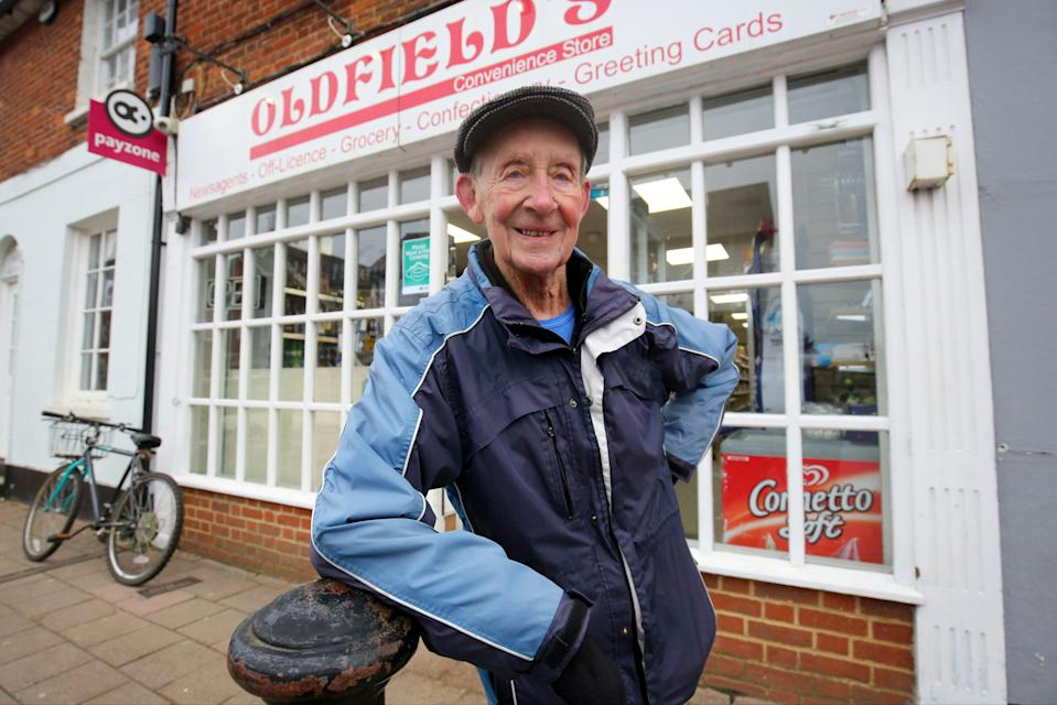 <p>Mr Bailey's varied life has seen him work as a stockbroker, at manufacturer Unigate for nearly 10 years and on a local golf course.</p> (PA)