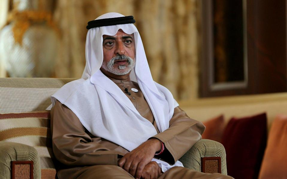 Sheikh Nahyan bin Mubarak Al Nahyan denied the allegations - AP