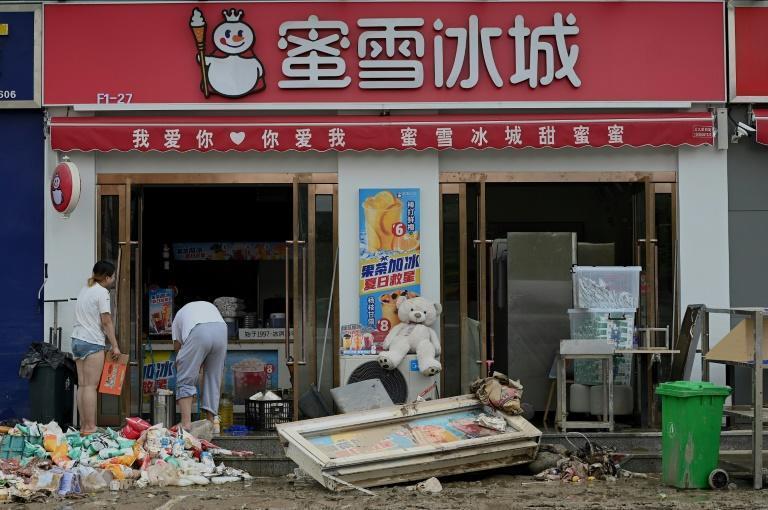 China is bracing for Typhoon In-Fa as parts of the country struggle to recover from devastating floods earlier this week